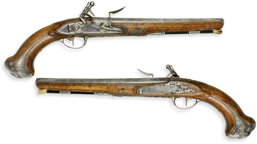 The Lafayette/Washington Pistols