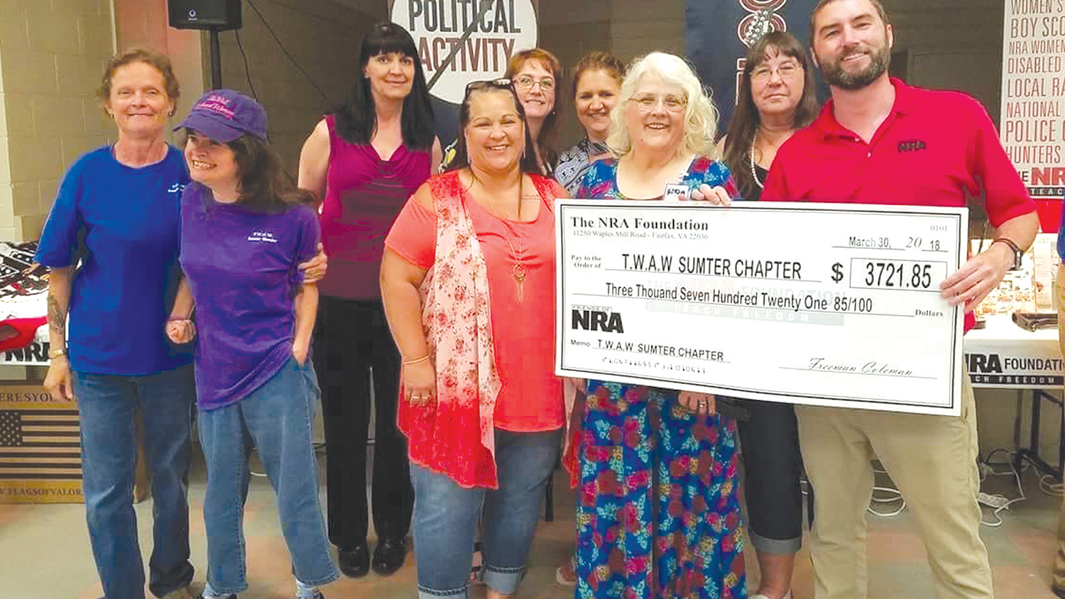 The Sumter Item: Shooting group receives grant for indoor range