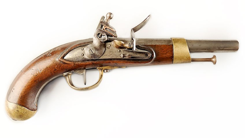 I Have This Old Gun: French Year XIII Cavalry Pistol