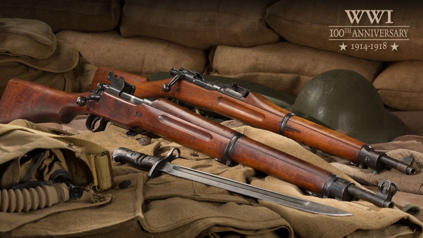 U.S. Rifles of WWI: The M1903 and M1917