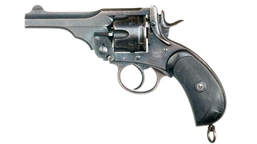 Classic Guns: Lt. Donald Simpson Bell's Webley Mk V Revolver