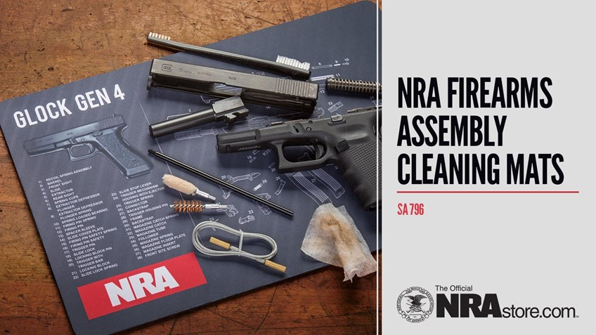 NRAstore Product Highlight: NRA Firearms Assembly Cleaning Mats
