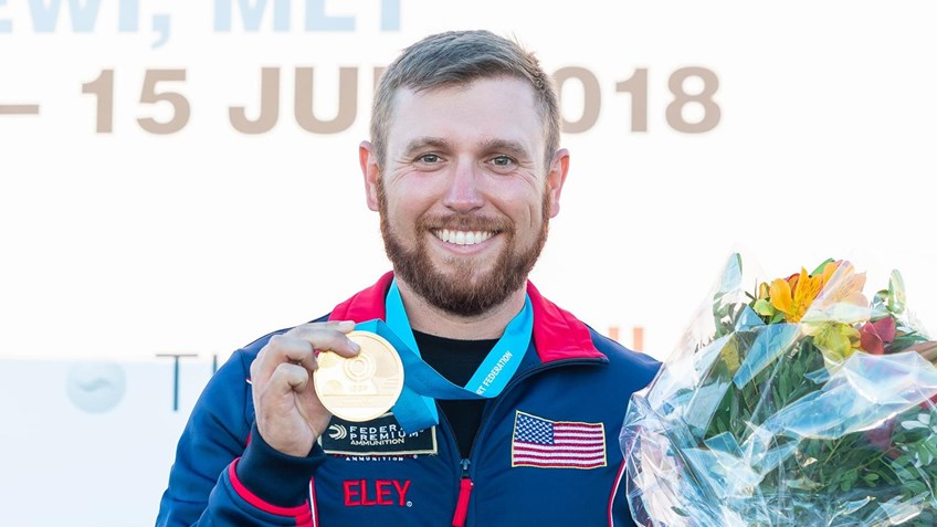 Three Consecutive ISSF Gold Medals For Vincent Hancock
