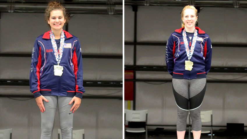Thrasher, Phillips Capture National Women's 3-Position Titles