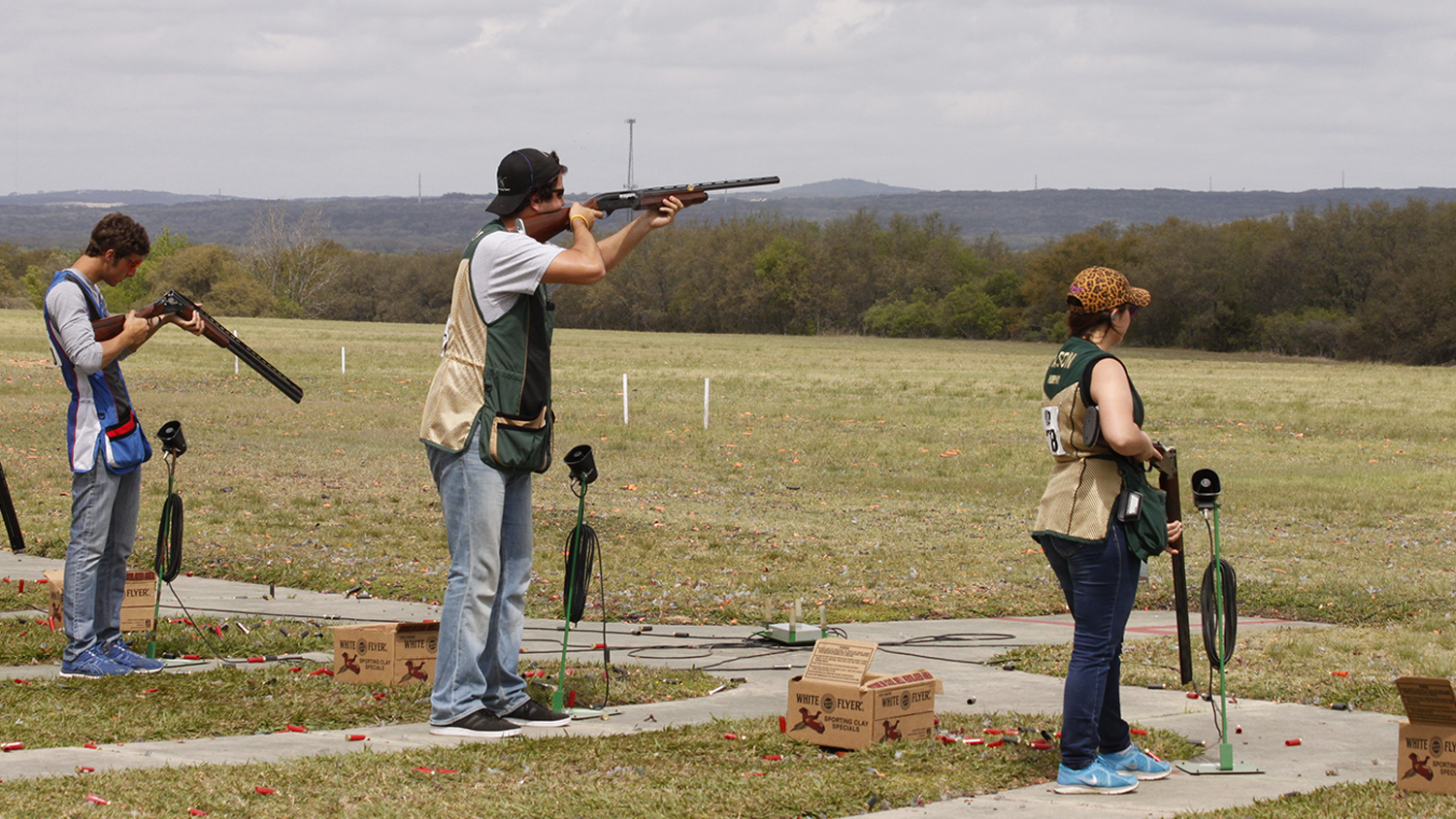 NRA Scholarships Awarded at ACUI Clay Target Championships