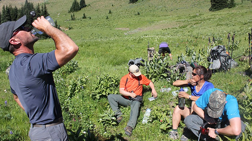 Heading for the Hills? Beware of Dehydration!