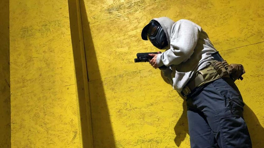 Personal-Defense Training: Armed Movement in Structures