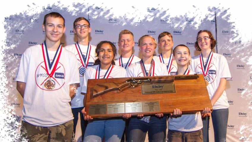 Kansas 4-H BB Gun Team Wins Daisy Nationals