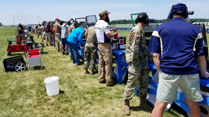 Camp Perry 2018: .22 Cal., Centerfire Championship Results, Mayleigh Cup Team