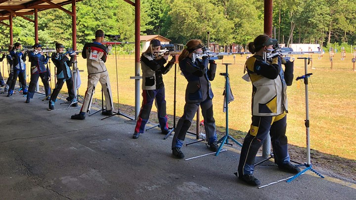 Gratz Finishes On Top At NRA National Smallbore Rifle Conventional Position Championship
