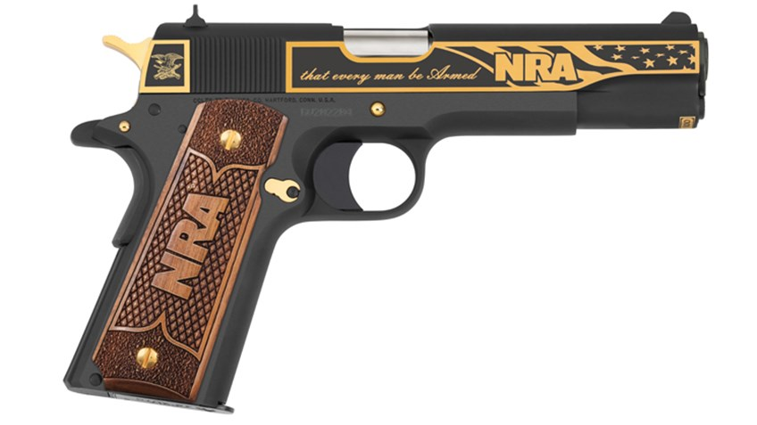 America Remembers Announces NRA Right to Bear Arms Tribute Pistol