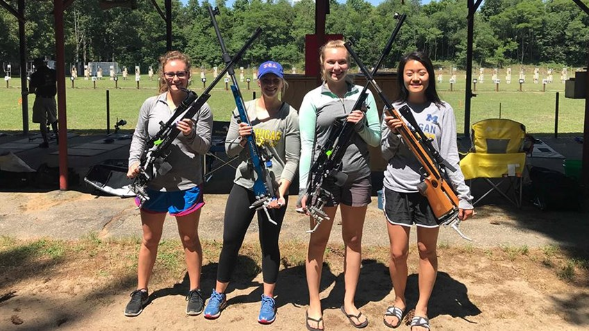 Smallbore Nationals: Metallic Sights Aggregate, Day 2