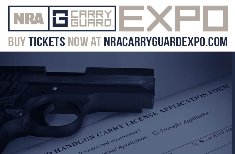 Multi-State Concealed Carry Permit Course Sept. 14 at NRA Carry Guard Expo -- Carry In Up To 38 States!