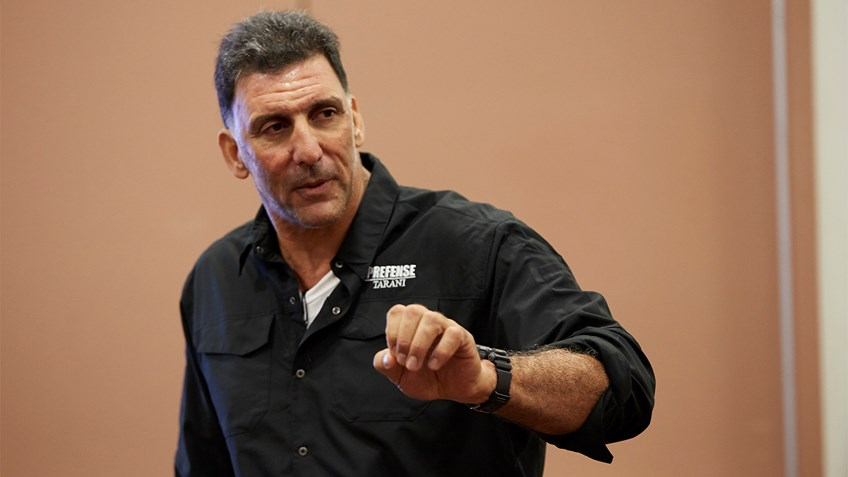 Train with Personal Protection Expert Steve Tarani at NRA Carry Guard Expo