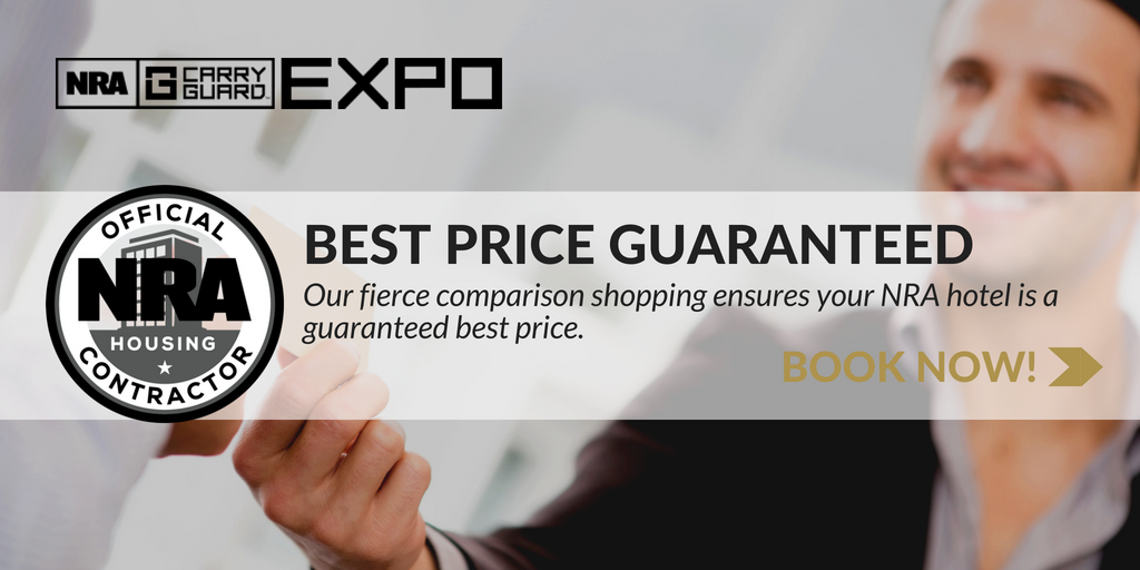 Book Your NRA Carry Guard Expo Hotel Stay Now!