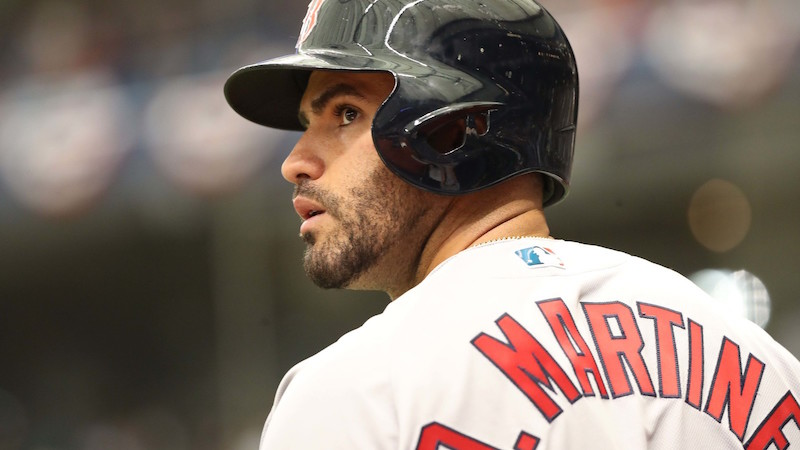 Breitbart: Red Sox J.D. Martinez tells reporters 'I Stand by the Constitution and the Second Amendment'
