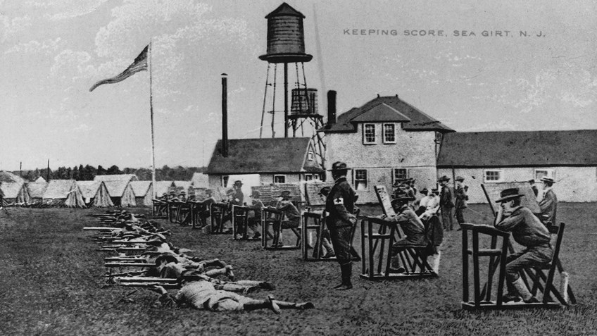 NRA Annual Matches Move To Sea Girt In 1892