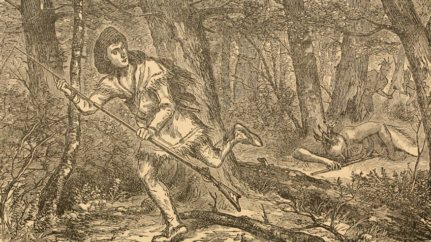 Throwback Thursday: Lewis Wetzel, Legendary Frontier Scout