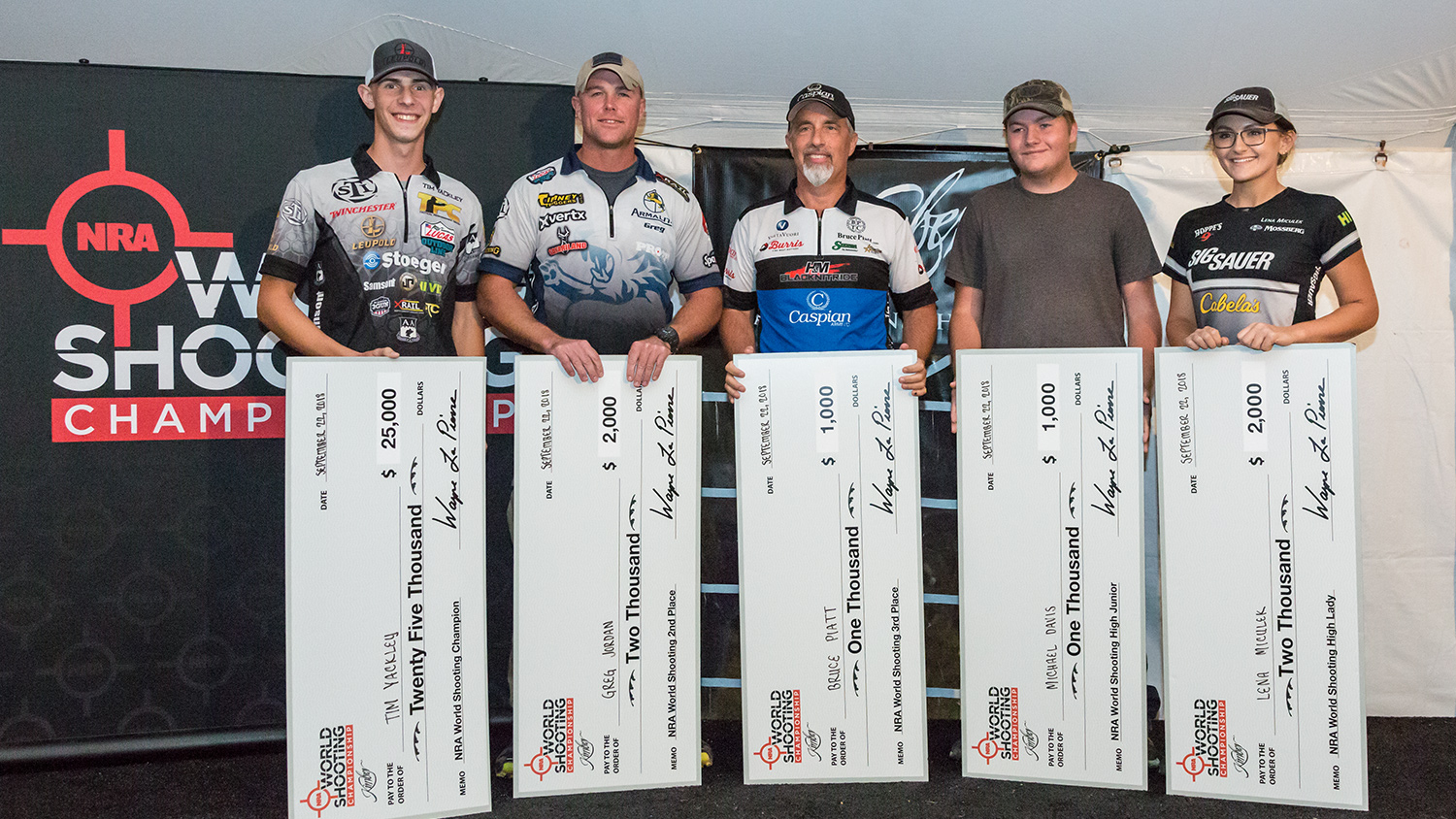 History-Making NRA World Shooting Championship Concludes Memorable 2018 Competition Season