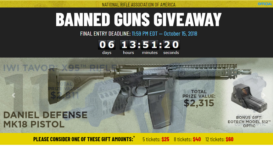 4 Cool Gun & Gear Giveaways Going On Right Now