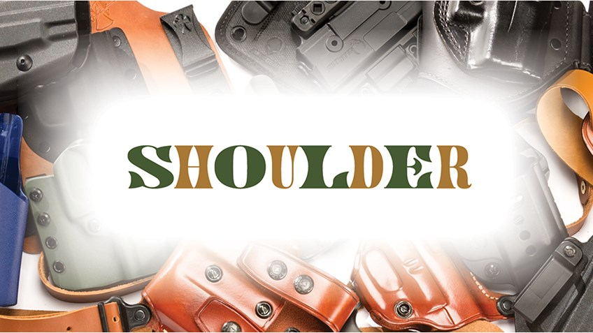 5 Premium Shoulder Holsters for Everyday Carry