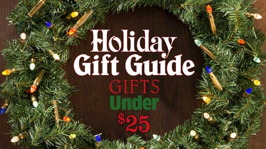Holiday Gifts for the Gun Enthusiast: 10 Options Under $25