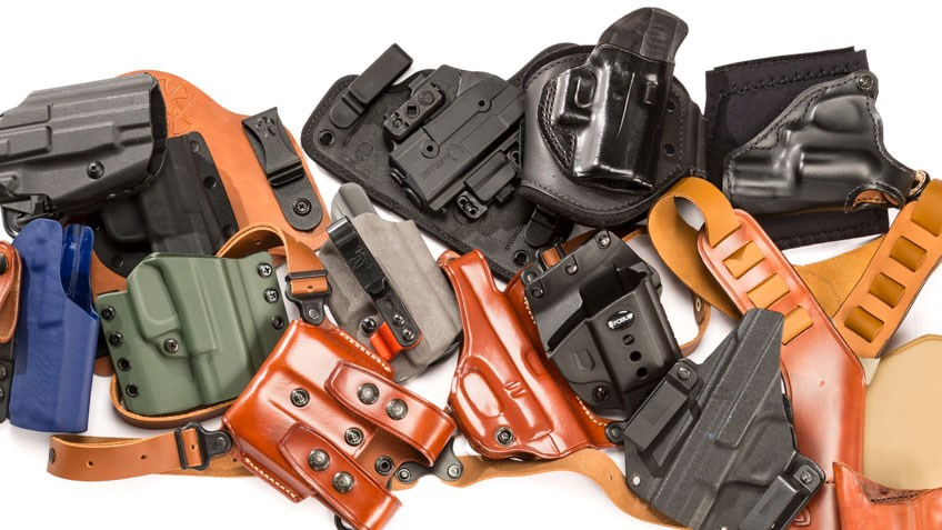 Holsterpallooza: 30 Great EDC Holsters for Your CCW Pistol