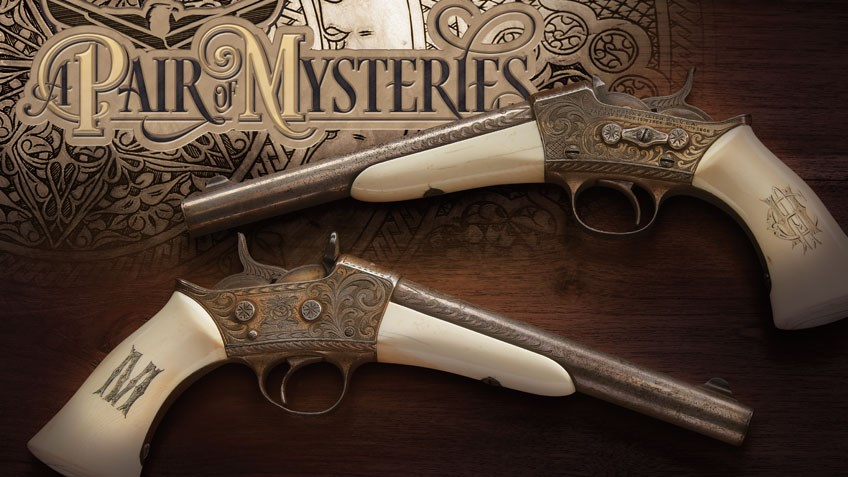 A Pair of Remington Rolling Block Pistols