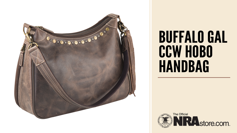 NRAstore Highlight: Buffalo Gal CCW Hobo Handbag