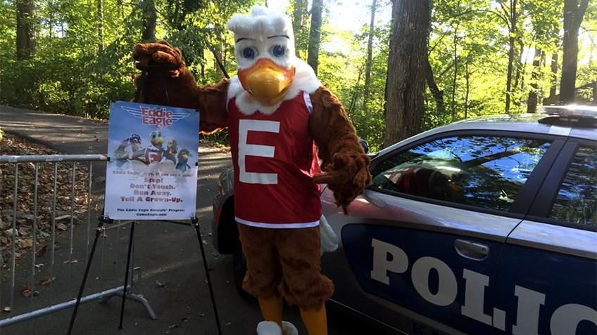 Eddie Eagle Flies Across the Country