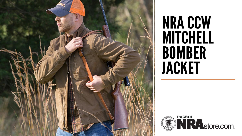 NRAstore Highlight: NRA CCW Mitchell Bomber Jacket