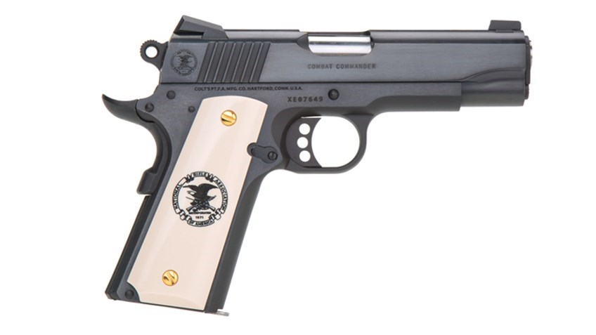 Legacy of Freedom: Col. North Colt Commander .45 1911 Pistol