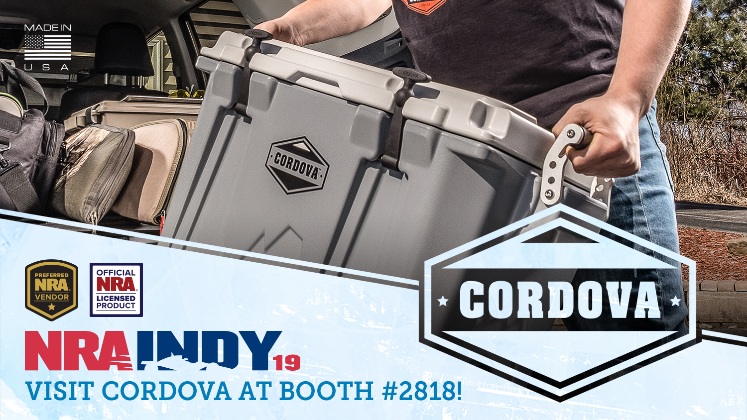 Be Sure to Visit Cordova at NRA Annual Meetings!