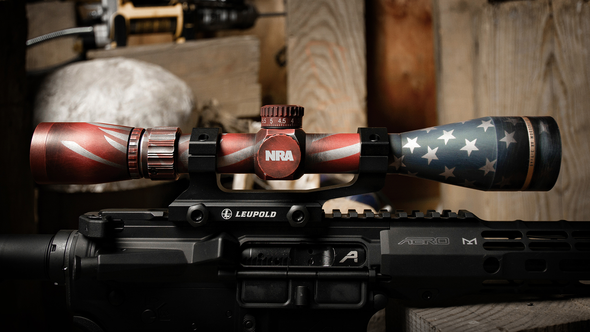 Leupold to Offer Limited Edition 'Stars & Stripes' VX-Freedom Riflescope at 148th NRA Annual Meetings & Exhibits