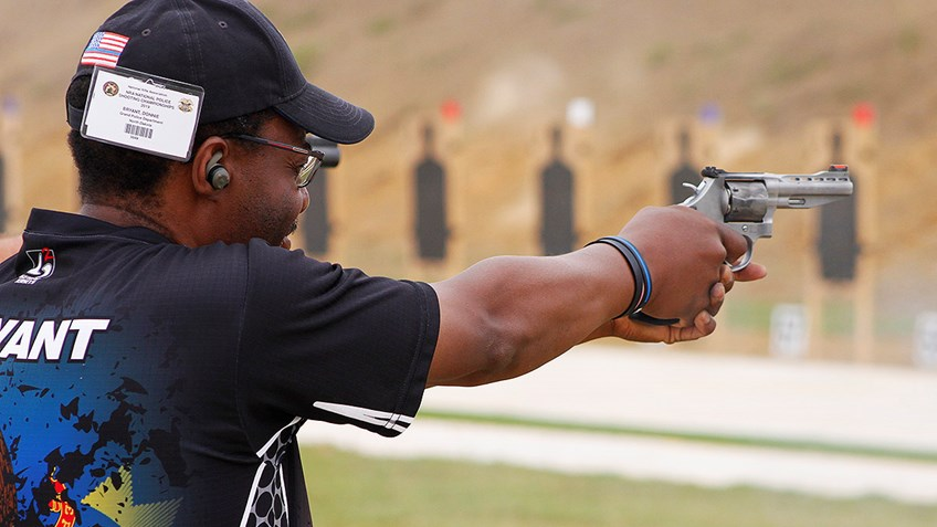 Taking a spin on Revolvers at the National Police Shooting Championships