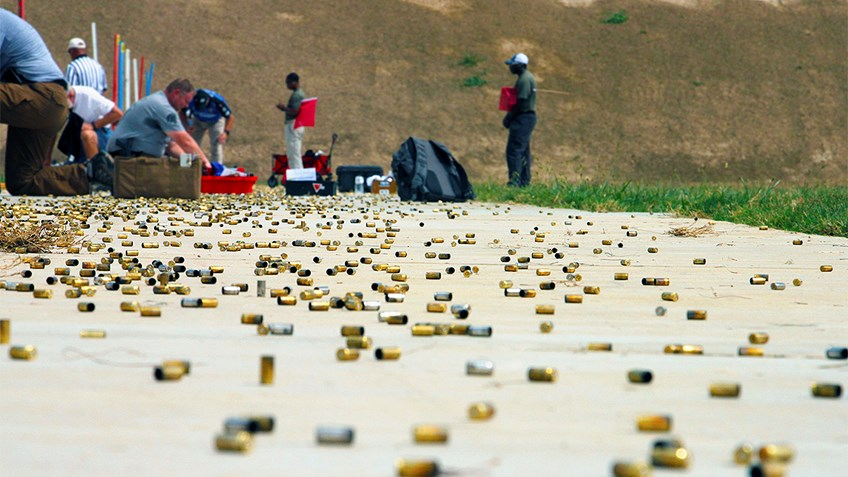 Preliminary Scores for the 3000 Open Aggregate at NRA's Police Championships