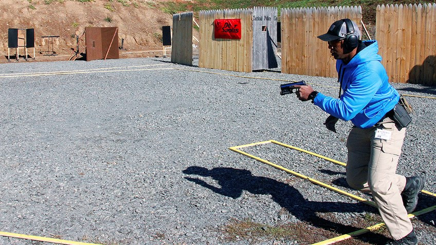 Officers Cuttin' the Pie at NRA's Tactical Police Competition