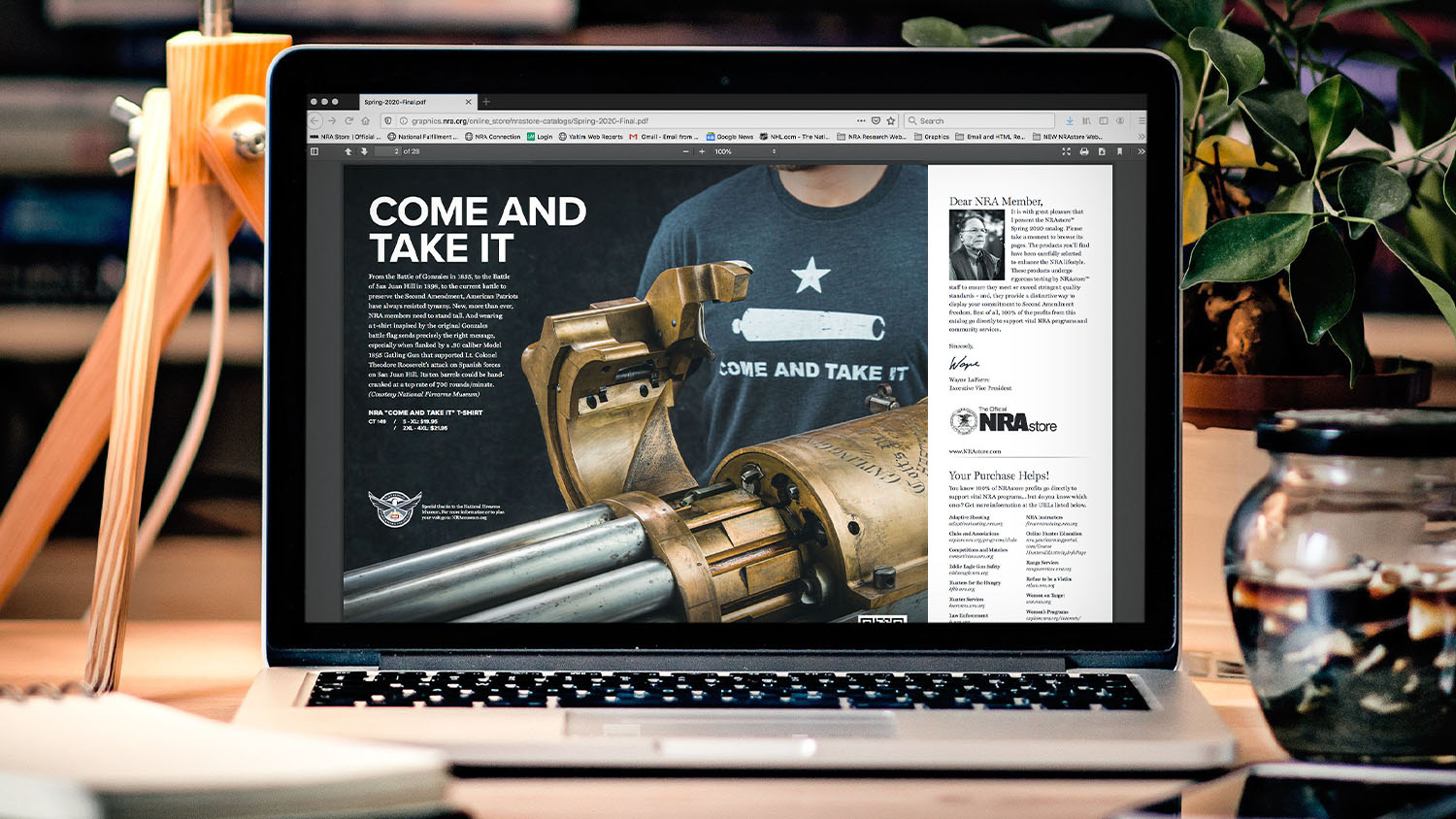 NRA Store's 2020 Spring Catalog is now available online!