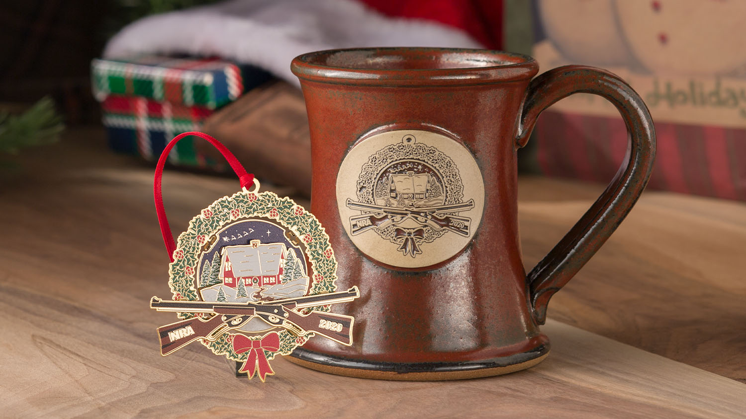 Christmas Comes Early - Limited Edition Christmas Ornament and Mug Now Available at NRAstore.com