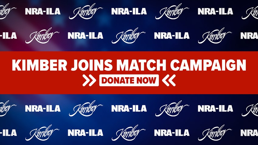 Kimber Partners with NRA-ILA in Donation Match Campaign