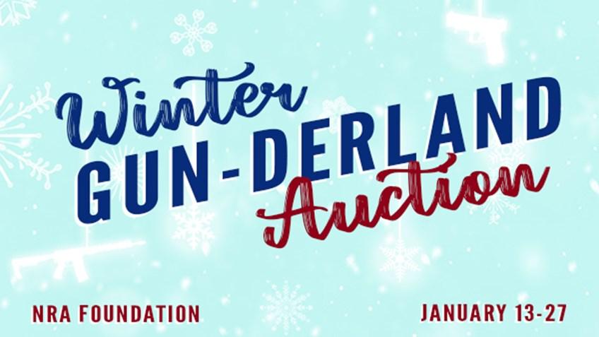 NRA Foundation's 2021 Winter Gun-derland Online Auction
