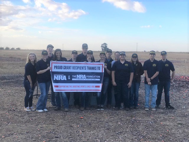 Gridley High School Trap Team Benefits form NRA Foundation Grants