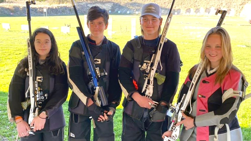 Burnet County 4-H onto National Shooting Competition