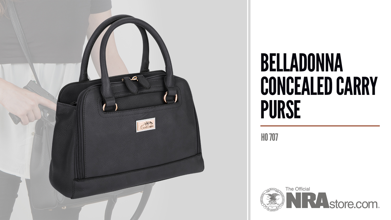 NRAstore Product Highlight: Belladonna Concealed Carry Purse