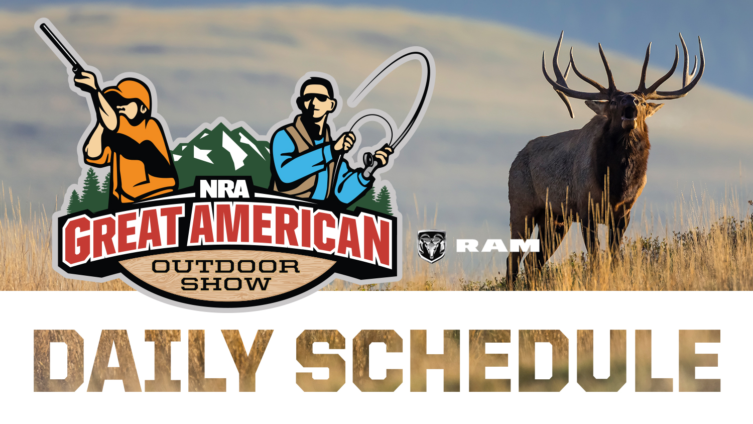 2019 Great American Outdoor Show Daily Schedule - Sunday, February 3